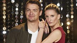 Moderátorka Adela Vinczeová a jej manžel Viktor Vincze.