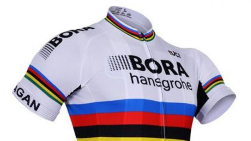 BORA Hansgrobe dres Majstra sveta Petra Sagana