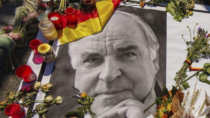 Helmut Kohl, nemecko, kancelár, pohreb