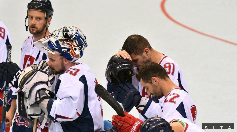 In-line hokejisti, smútok, prehra