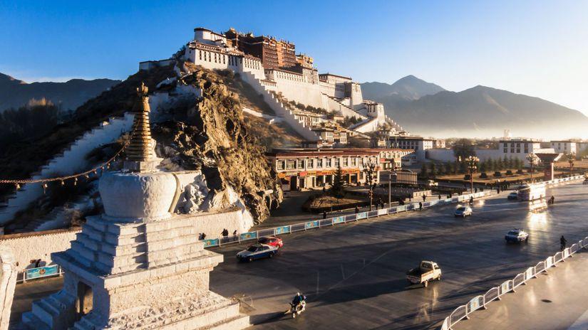 Palác Potala, Lhasa, Dalajláma