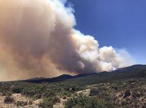 požiar, lesny poziar, poziar lesa