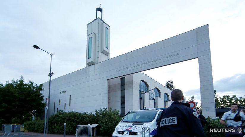 Francúzsko, mešita, polícia
