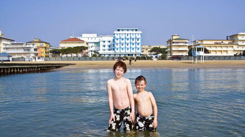 leto, teplo, prázdniny, deti, more, pláž,