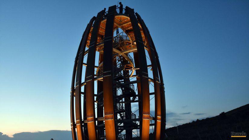 Tokaj, Sudová veža, vyhliadka, vyhliadková veža