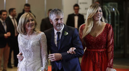 Celia Maria Cuccittini, Jorge Messi, Maria Sol
