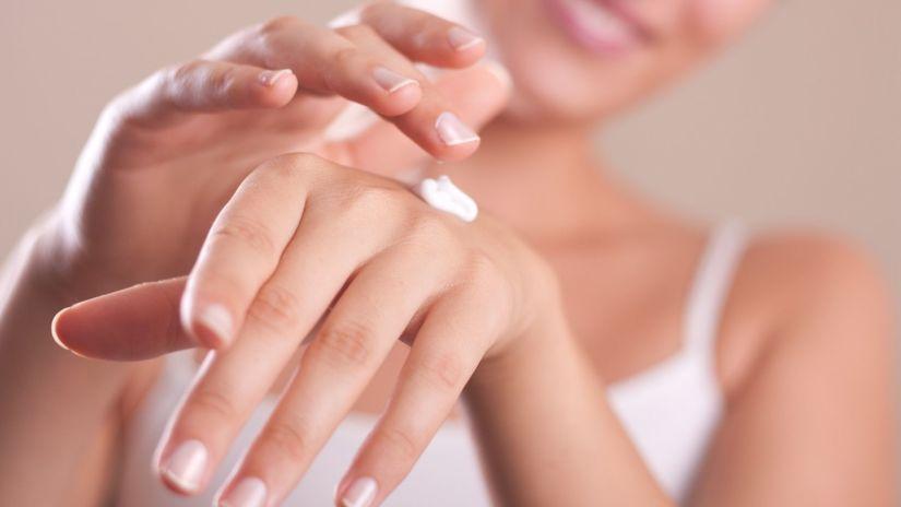 ruky, pleť, kozmetika