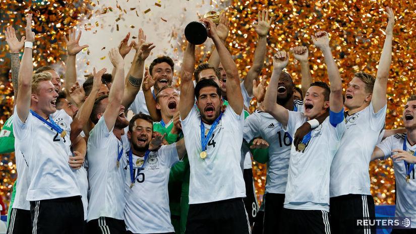 Nemecko, futbal, Pohár konfederácií