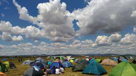 Počasie zúčastnením počas festivalu prialo.