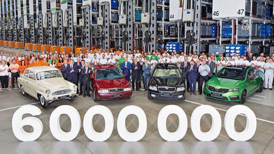 Škoda Octavia: Z výrobných liniek zišlo už 6 miliónov kusov