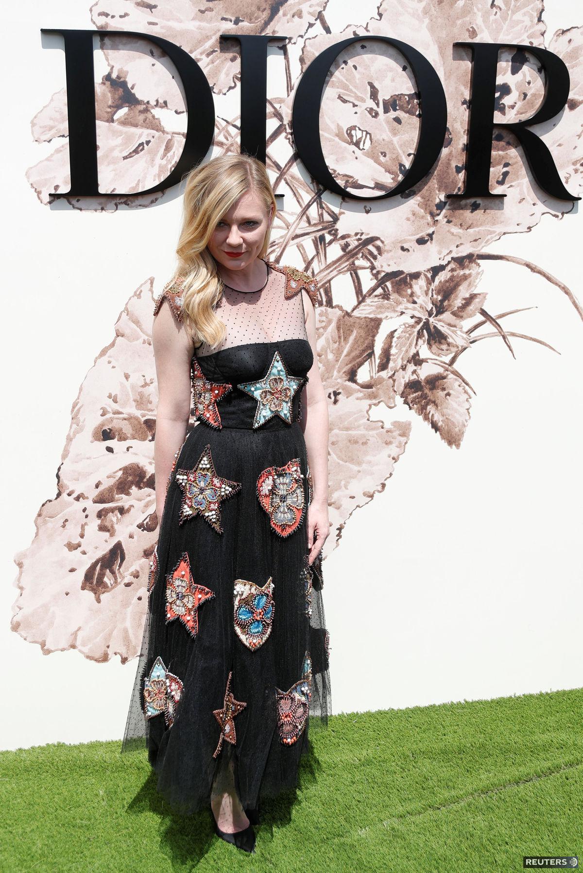 Americká herečka Kirsten Dunst.