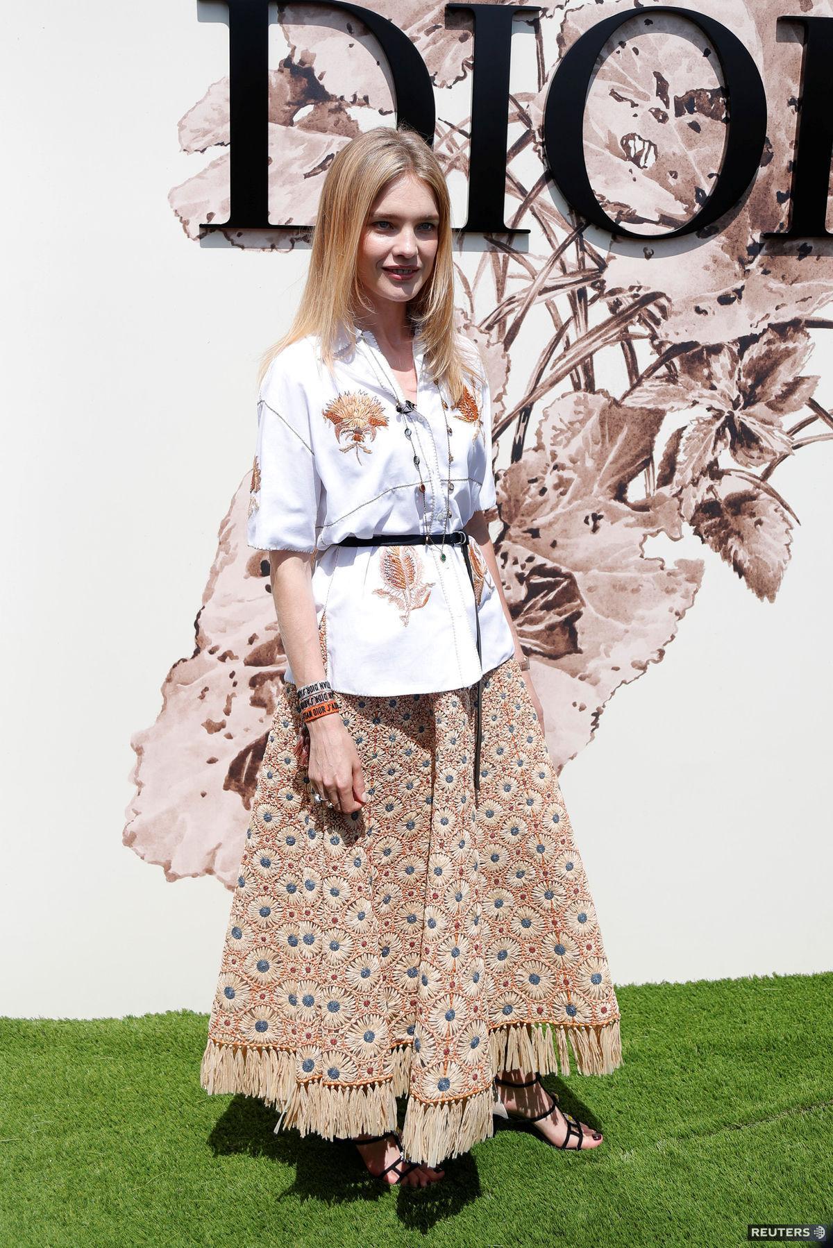 Ruská modelka Natalia Vodianová pred...