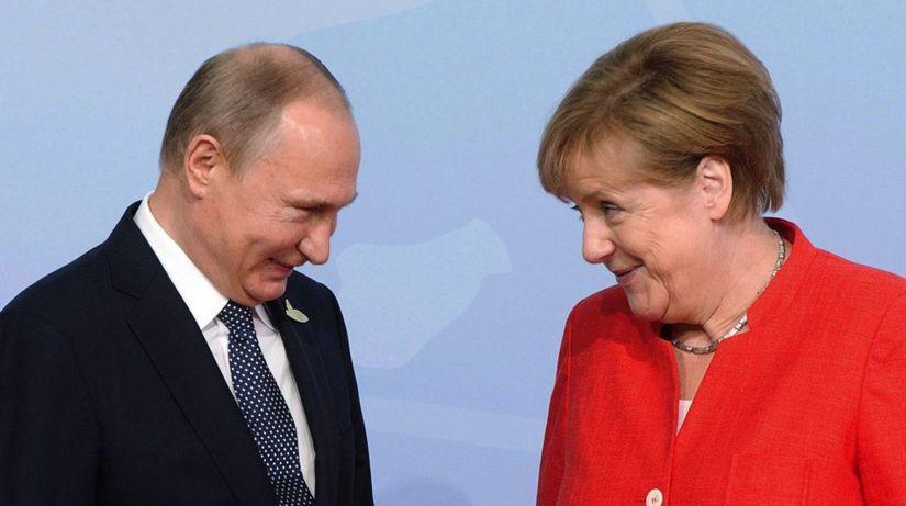 APTOPIX Putin Merkel G20 Germany
