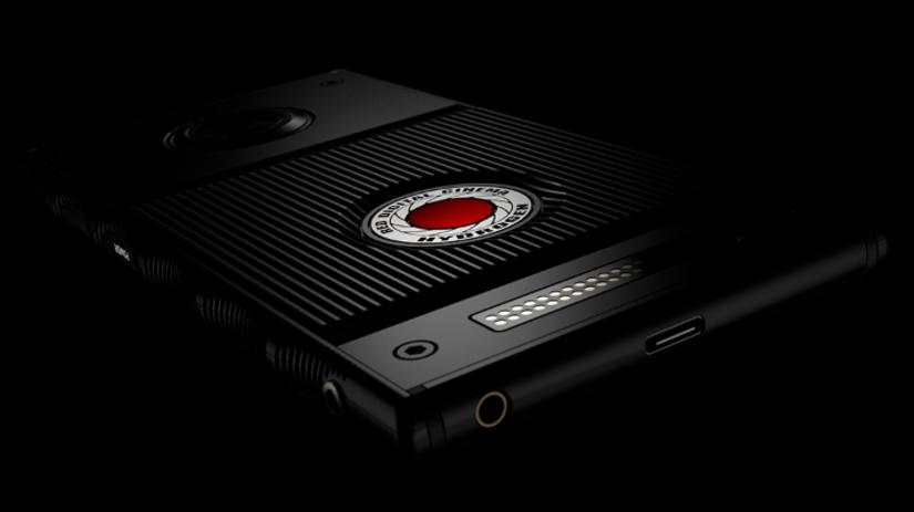 RED, smartfón, hologram,