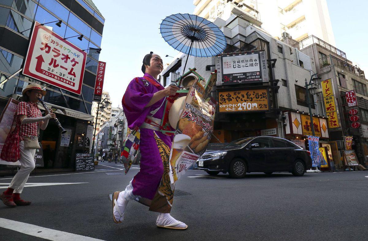 Japonsko, kimono, Tokio