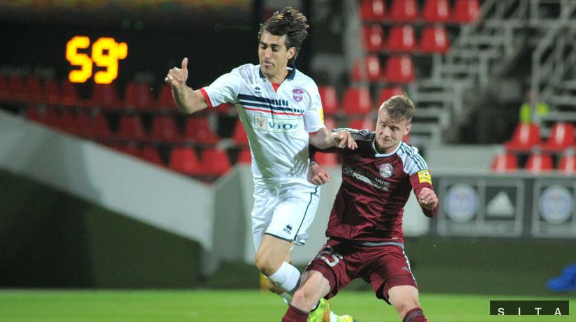 Marques De Souza z FC Vion Zlaté Moravce, a...