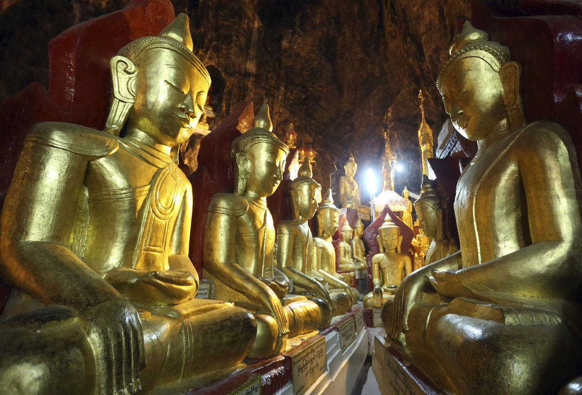 Mjanmarsko, Budhovia, budhizmus