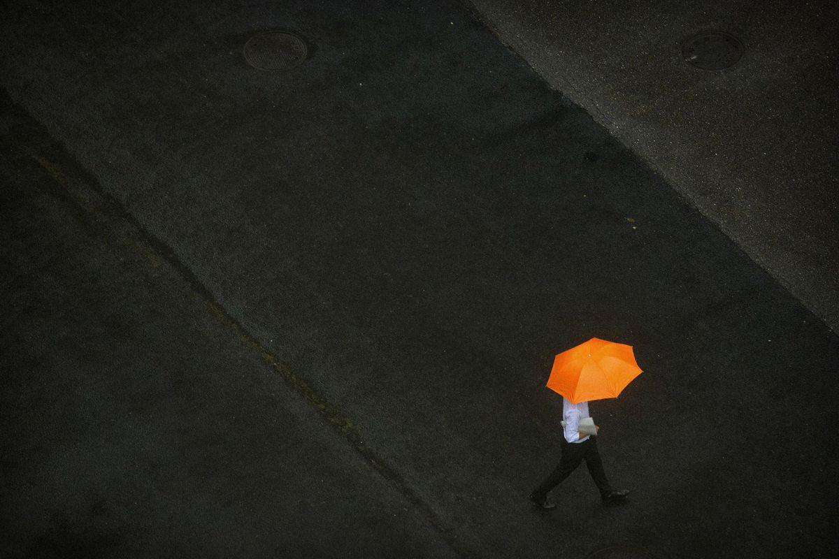 počasie, dáždnik, dážď,