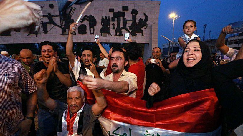 Irak, mosul, porážka islamského štátu,