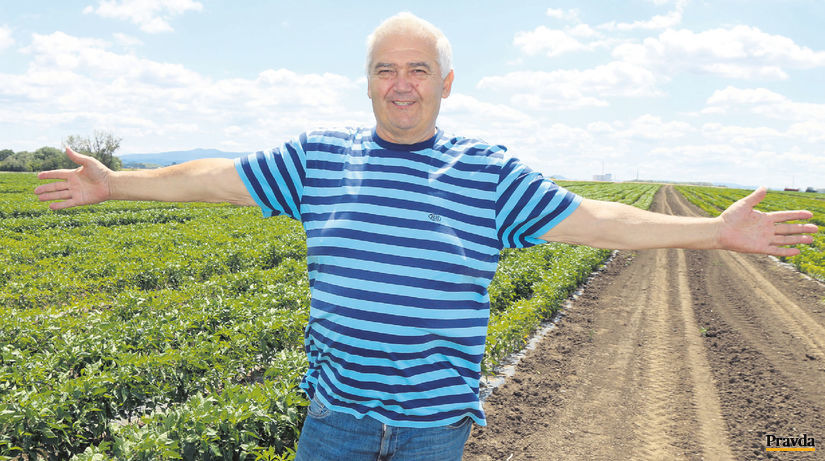 Ľudovít Kiss poľnohospodár