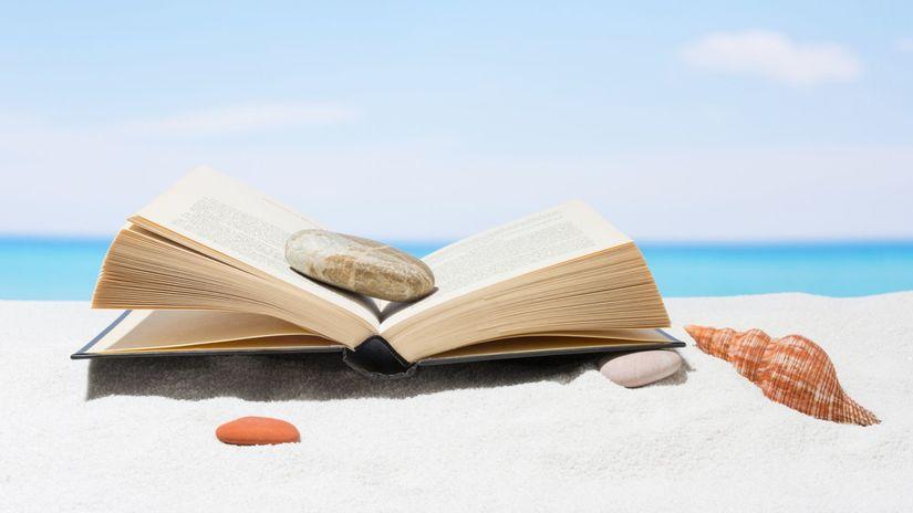 leto, more, oddych, dovolenka, čítanie, kniha,...
