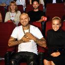 Raper Patrik Rytmus Vrbovský a jeho životná partnerka - speváčka Dara Rolins.