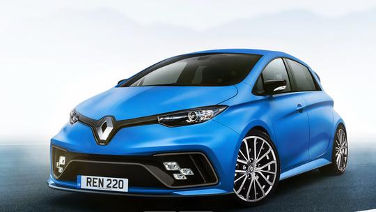 Renaul Zoe R.S.: Nahradí elektrický hothatch Clio RS?