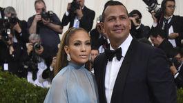 Speváčka a herečka Jennifer Lopez a jej partner Alex Rodriguez.