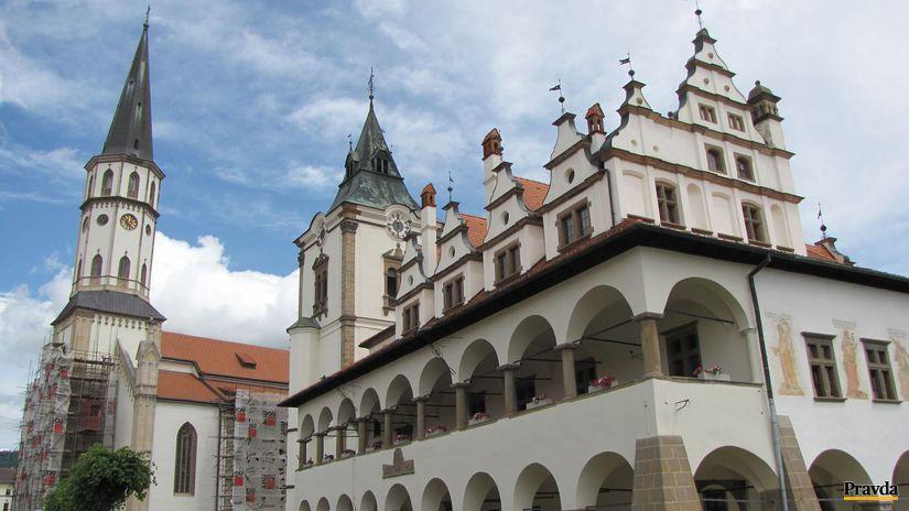 Spiš, Levoča, radnica, kostol sv. jakuba