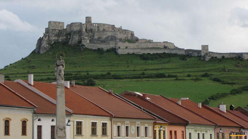 Spiš, Spišský hrad, Spišské Podhradie