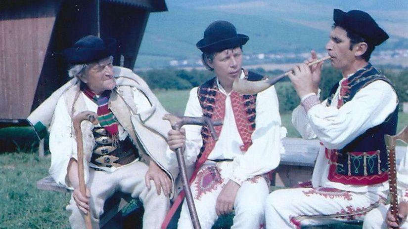folklór, Krivany