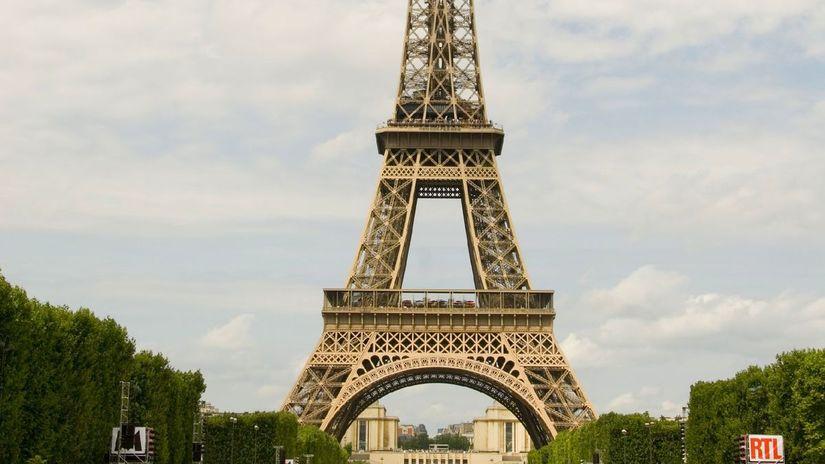 Francúzsko, Paríž, Eiffelova veža,