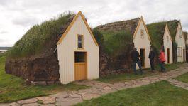 Island, dom, Skanzen v Skógare