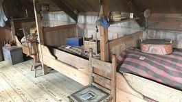 Island, dom, Skanzen v Skógare, podkrovie, spálňa