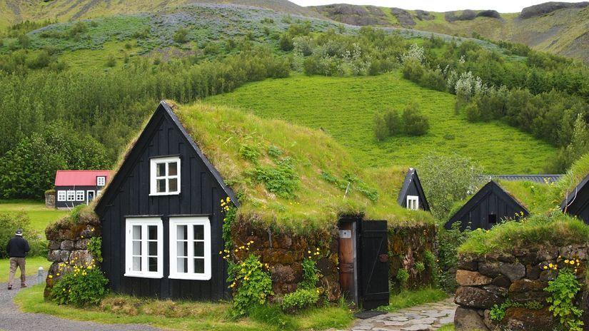 Island, domy