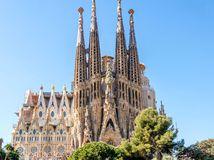 Španielsko, Barcelona, Sagrada Familia, chrám, Gaudi