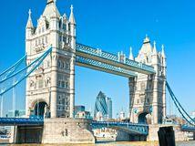 Veľká Británia, Anglicko, Londýn, Tower Bridge, most