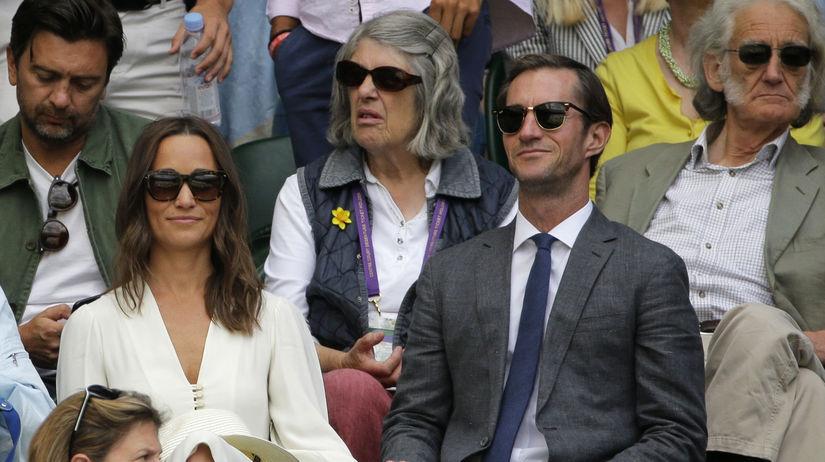 Pippa Middleton a jej manžel James Matthews