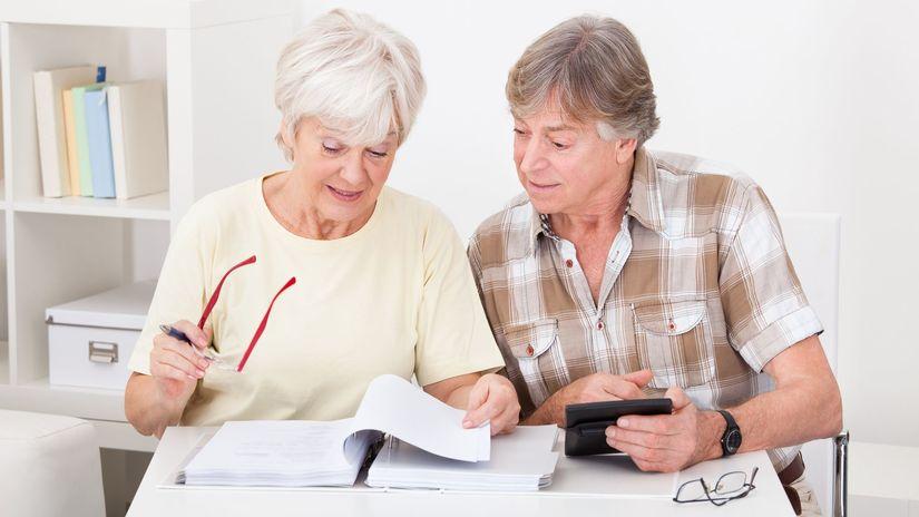 dôchodca, dôchodok, zmluva
