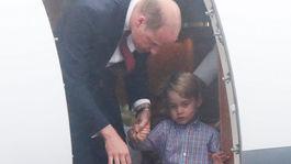 Princ William vystupuje aj so svojím synom - princom Georgom