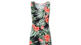 Šaty s výrazným kvetinovým motívom - predáva F&F.
