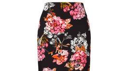Sukňa s výrazným kvetinovým motívom - predáva F&F.