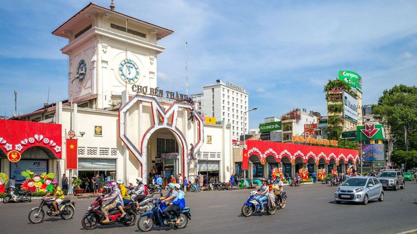 Hočiminovo Mesto, Vietnam, Saigon