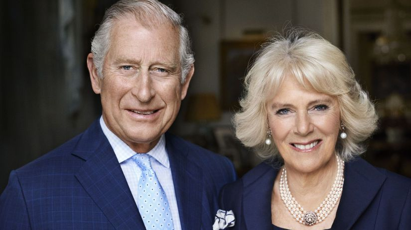 Princ Charles a jeho manželka Camilla,...