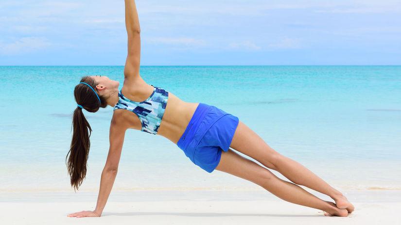Cvičenie na pláži nám môže pomôcť v udržiavaní...