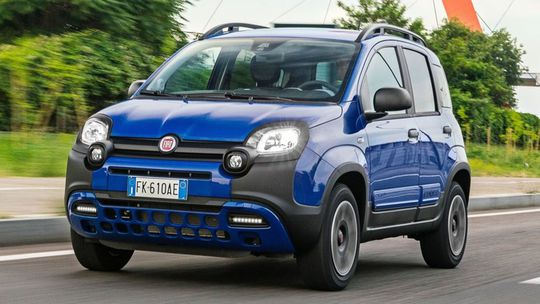 Fiat Panda City Cross: Mikro off-road prišiel o 4x4