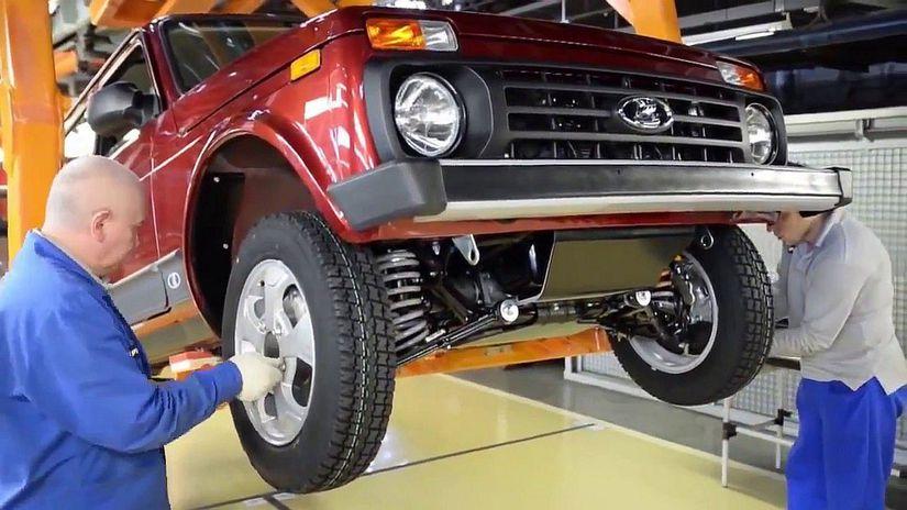Lada - produkcia AvtoVAZ