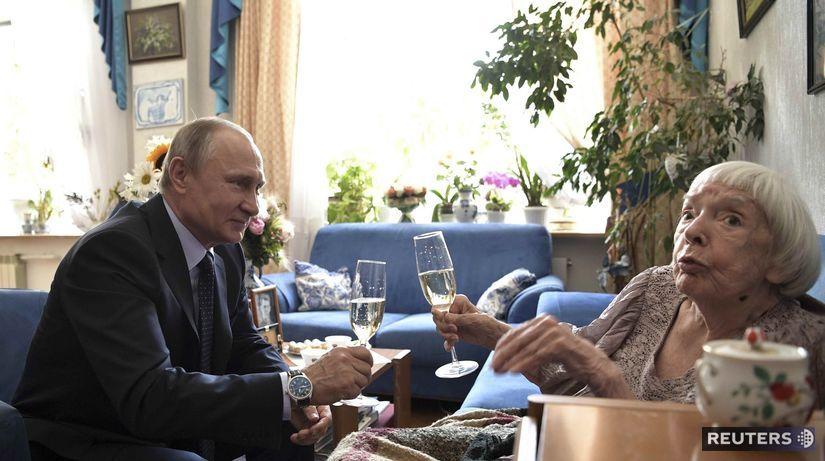 Ljudmila Alexejevová Vladimir putin