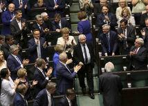 polsko, polsky parlament, parlament, pravo a spravodlivost,  Jaroslaw Kaczyńsky