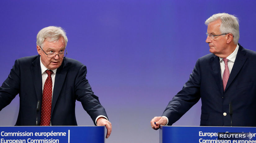 David Davis, Michel Barnier